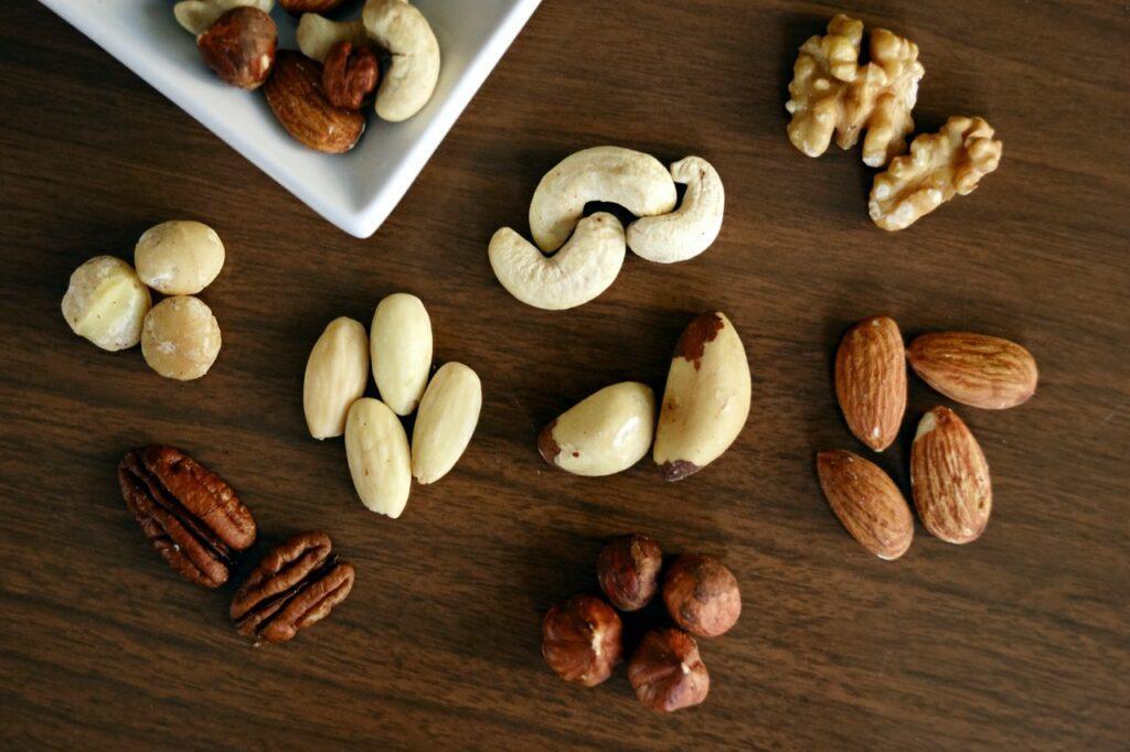 nueces de brasil para bajar de peso